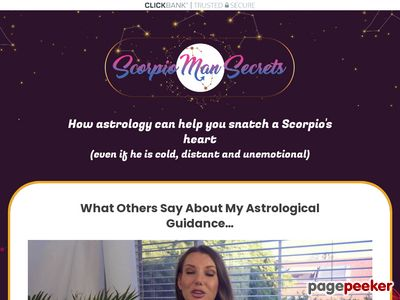 Scorpio Man Secrets — Put That Hot Scorpio Man Under Your Spell 1