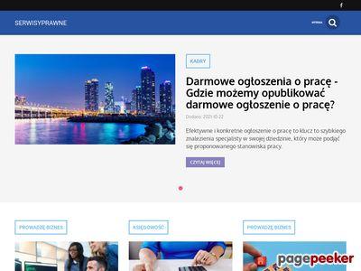 Serwisyprawne.pl zbiór serwisów z prawem przydatnych dla każdego