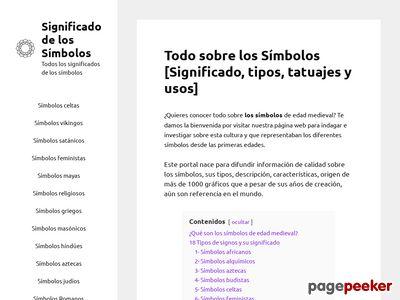 significadodelosimbolos.com