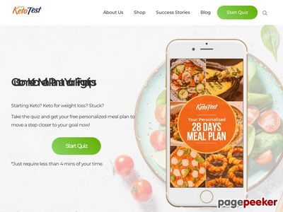 Simple Keto Test: Personalized 28 Days Keto Meal Plan 1