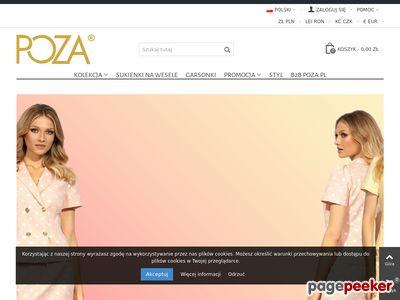 Eleganckie suknie polskiego producenta