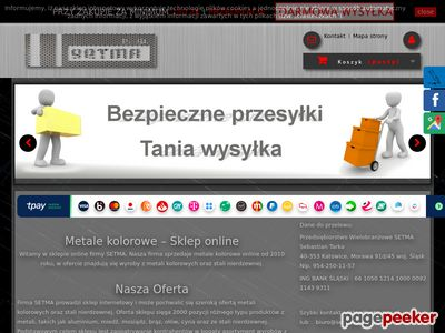 Sklep.setmapw.pl - rura kwadratowa