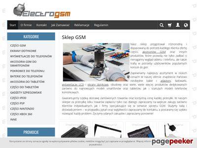 Części i akcesoria GSM