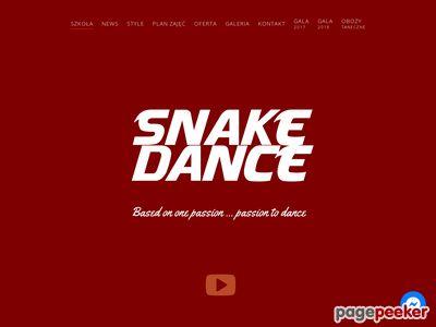 SNAKE DANCE Szkoła Tańca Częstochowa