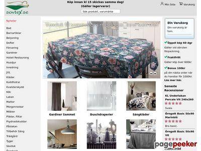 Inredning - Gardiner - Hemtextil - Sovtex - http://sovtex.se