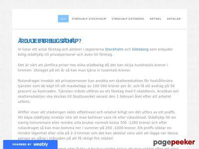 Billig St�dhj�lp - Hem - http://stadhjalp.weebly.com