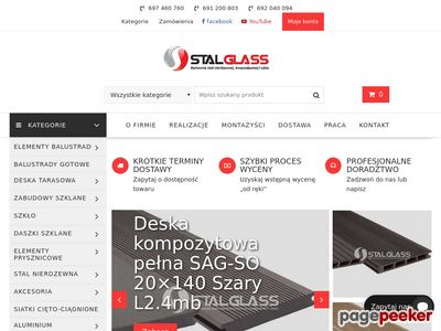 Stalglass.com - balustrady balkonowe