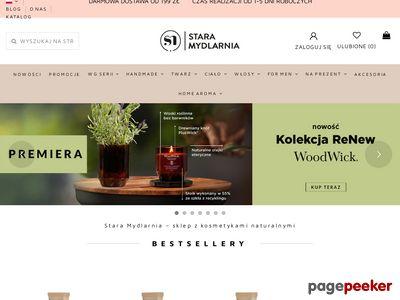 Kosmetyki naturalne - Stara Mydlarnia