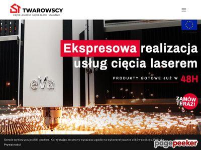 Wycinanie laserowe Białystok - stlaser.pl