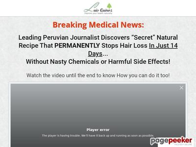 Stop Hair Loss Natural Solution New Alternative For Alopecia Problems 1