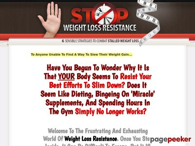 Stop Weight Loss Resistance: Strategies To Break Through Weight Loss Resistance 1