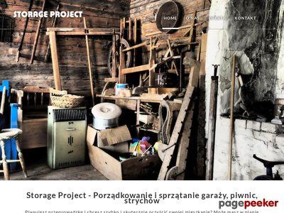 Storage Project - Sprzątanie piwnic