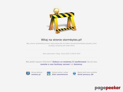 Stormbytes - E-marketing, strony WWW, Wordpress, copywriting