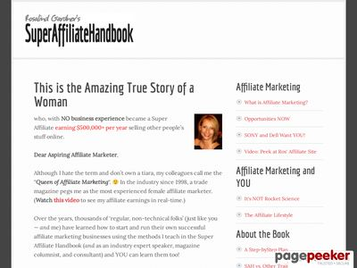 Overachieving Your Way to Super Affiliate Stardom Overachieving Your Way to Super Affiliate Stardom superaffiliatehandbook