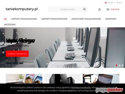 Tanielaptopy.eu - Komputery