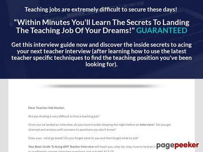 Teacher Interview Tips 1