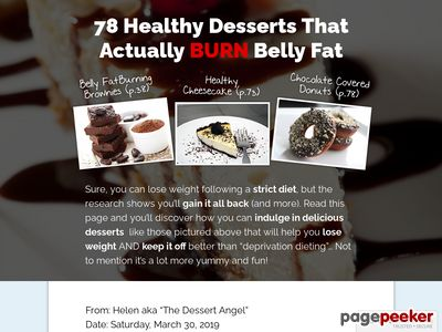The Dessert Angel | How to Have Your Cake and Lose Weight Too! 1