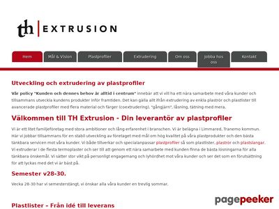 TH Extrusion - http://thextrusion.se