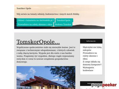 tomskor.opole.pl - kurtka skórzana dla Ciebie