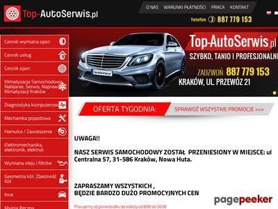 Serwis samochodowy - Top-AutoSerwis