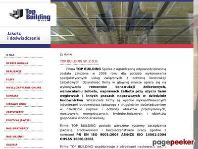 Top Building - wzmacnianie i uszczelnianie konstrukcji budowlanych