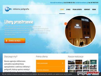 Szyldy reklamowe w Lublinie