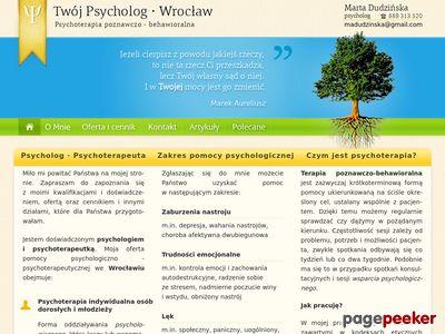 Psycholog Psychoterapeuta