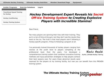 Ultimate Hockey Training: Transforming Effort into Ability! 1