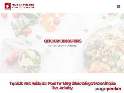 Ultimate Diabetic Cookbook ultimatediabeticcookbook