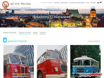 WE LOVE WARSAW - zwiedzanie warszawy