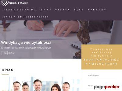 Wexel.pl - odzyskiwanie należności
