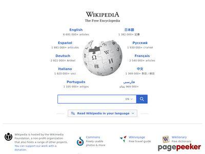 Wikipedia - http://wikipedia.org