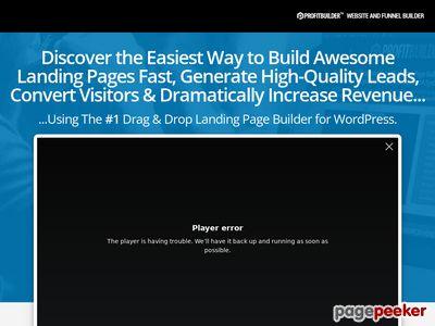 ProfitBuilder – The #1 Drag & Drop Marketing Page Builder for WordPress wpprofitbuilder
