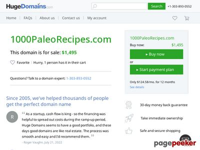 1000 Paleo Recipes - Earn Up To $75/sale - High Conversions! 1000 Paleo Recipes – Earn Up To $75/sale – High Conversions! www