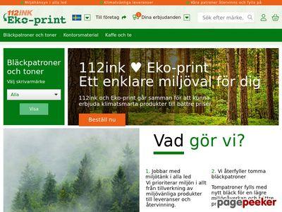 112ink.se - billiga bl�ckpatroner och toners  - http://www.112ink.se