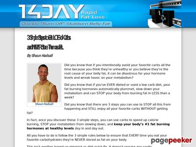 chronic low carb diets