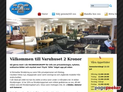 Varuhuset Tv� Kronor - Malm� F�rmedlingscentral   - http://www.2kronor.com