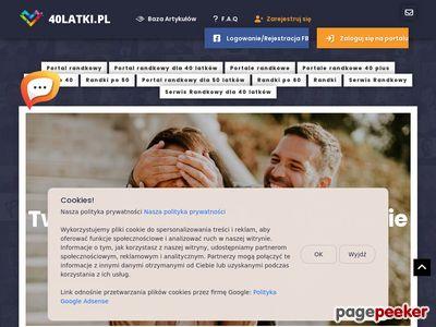 Samotni czterdziestolatki - 40latki.pl