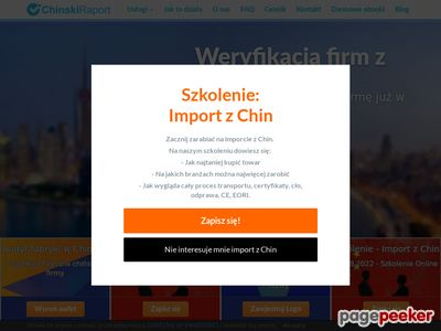 Import z Chin
