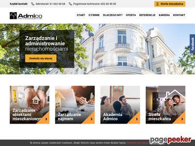 Admico - partner w nieruchomościach od 1997 r.