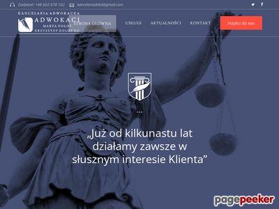 Adwokat Krzysztof Dolot Rzeszów