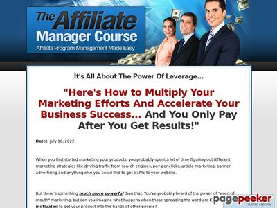 Affiliate Programs: How To Choose The Best Program To Market Affiliate Programs: How To Choose The Best Program To Market www
