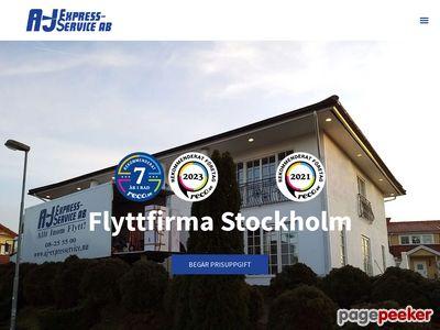 Flyttfirman A-J Express-Service AB - http://www.aj-expresservice.nu