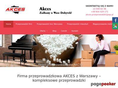 Przeprowadzki Warszawa - Akces