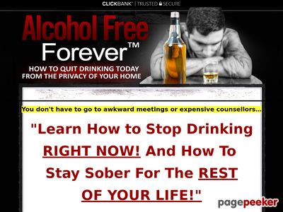 Alcohol Free Forever™ How to Stop Drinking RIGHT NOW! Alcohol Free Forever™ How to Stop Drinking RIGHT NOW! www