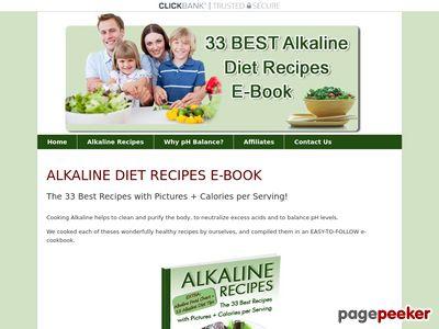 Download Alkaline Recipes E-Book | Alkaline-Recipes.com 1