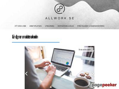 Lediga Jobb  / Popul�ra - http://www.allwork.se