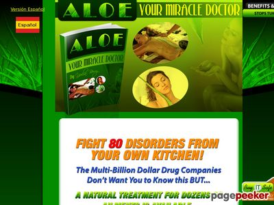 www.aloe yourmiracledoctor - eBook Aloe - Your Miracle Doctor