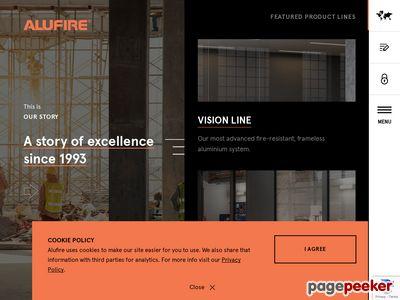 Alufire - drzwi ogniowe przeciwpożarowe