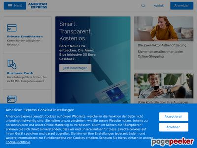 American Express - http://www.americanexpress.com
